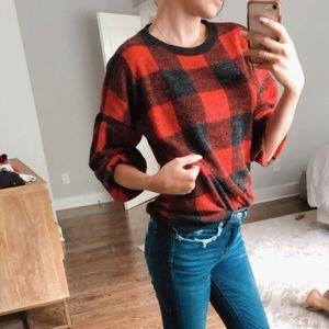 Flannel Sweater